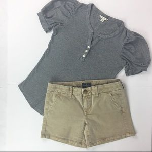 Banana Republic Top & American Eagle Shorts s 4